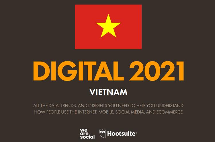 Digital 2021 Vietnam in January 2021